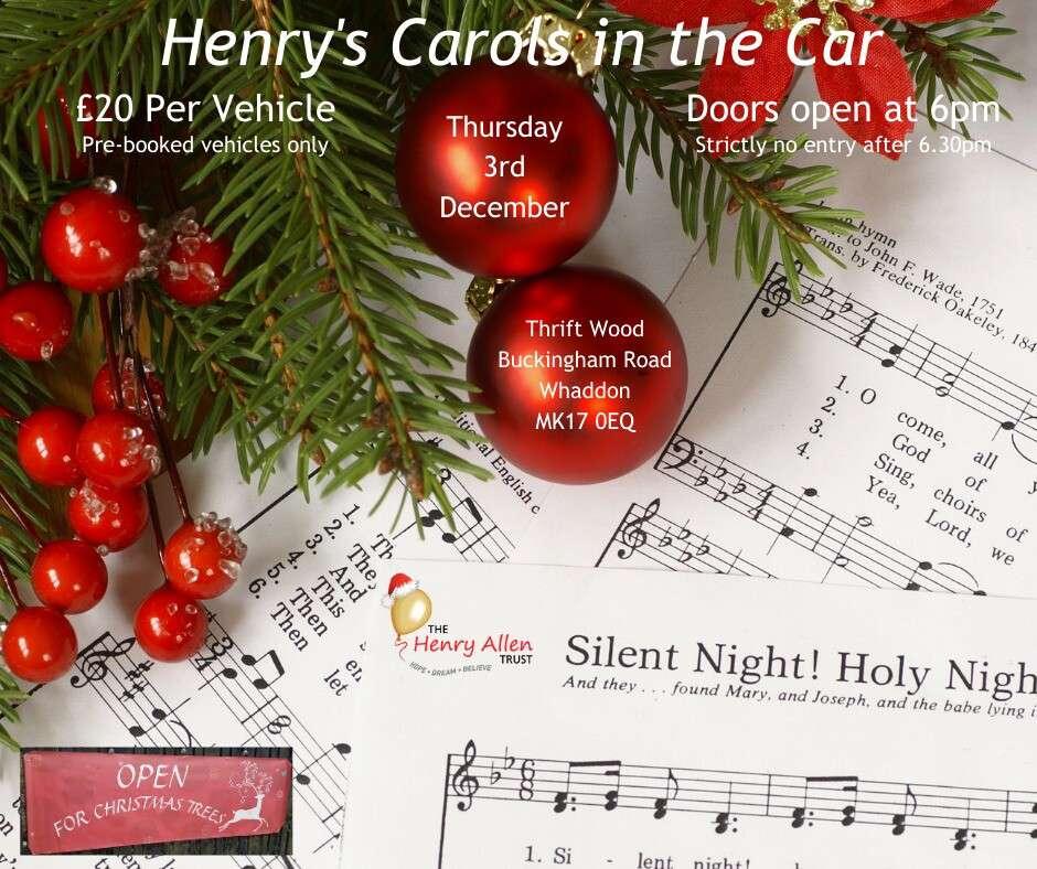 Henrys Carols in the Car 2020
